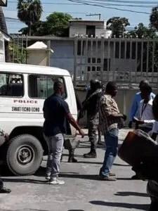 5 grenades retrouvées à l'intérieur de la Direction générale des impôts (DGI) 1