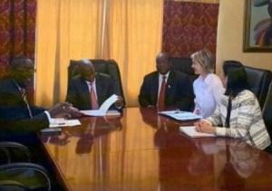 Visite de l'émissaire américain en Haïti, l'opposition refuse de s'asseoir avec le Président Jovenel Moïse 1