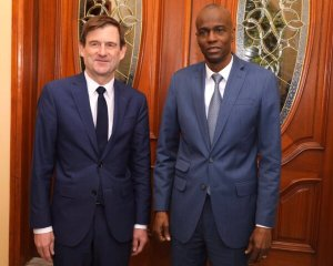 Coopération : le Président Jovenel Moïse a rencontré le sous-secrétaire d'État aux affaires politiques 1