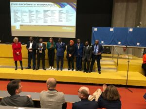 6 cadres haïtiens diplomés en Master 2 en Droit international à l'Université de Nantes en France 1