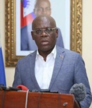 Intervention des gangs armés dans des médias, le Premier ministre Joseph Jouthe souffle le chaud et le froid