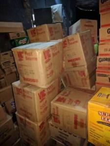 Saisie de produits avariés aux Gonaïves