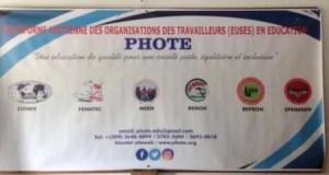 La Plateforme haïtienne des organisations des travailleurs et travailleuses en éducation présentée à la population