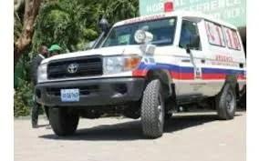 Artibonite : séquestration d'une ambulance par des individus armés de « Savyen », le Centre ambulancier national alerte les autorités
