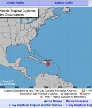 Le cyclone Isaias s'approche d'Haïti, les autorités décrètent l'alerte orange