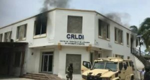 Delmas : incendie du bureau de l'Office national d'identification à Delmas 31