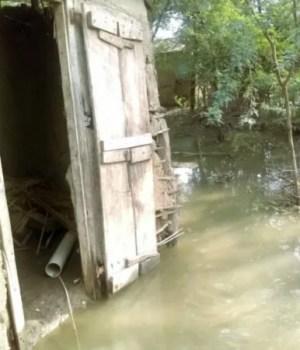 Artibonite : des localités inondées, des habitants tirent la sonette d'alarme
