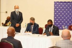 Signature d'un protocole additionnel entre la BRH et la Fédération suisse au profit du développement agricole