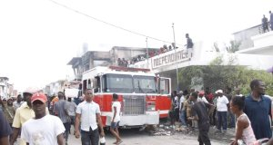 Gonaïves (Artibonite) : au moins 2 maisons incendiées à proximité du mémorial de l'indépendance