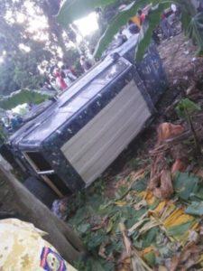 Jérémie (Grand'Anse) : des policiers du cortège de l'épouse du Président victimes d'un accident de circulation