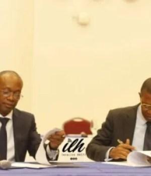 Signature d'un accord entre la BRH et le ministère de l'économie sur la gouvernance économique