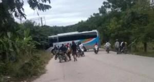 Thomonde (Centre) : blocage de la Route nationale # 3 par des proches du régime en place