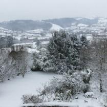 Haitz Ondo sous la neige