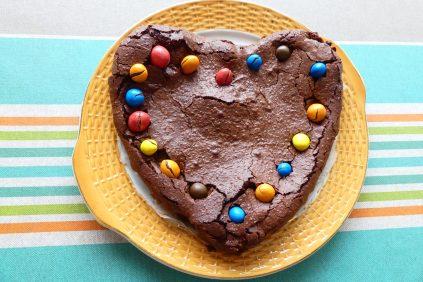 gâteau coeur Haitz ondo