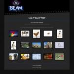 Light Blue thumbnail page