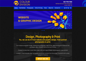 The new Colour Division website