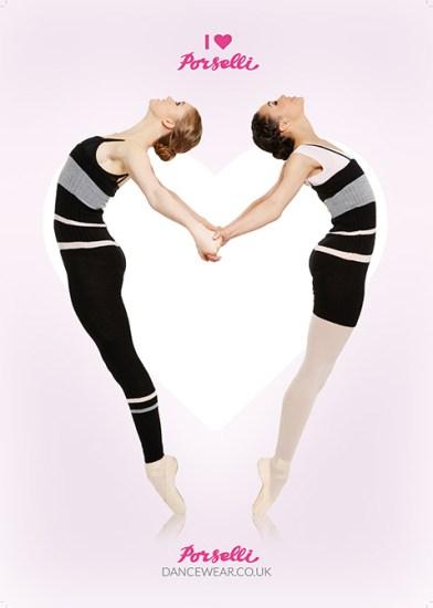 porselli dancewear july ad