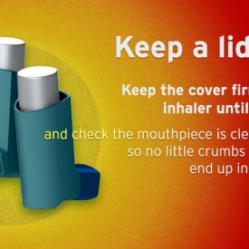 Inhaler Safety Graphic