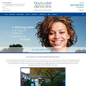 Bayswater Dental Clinic Website