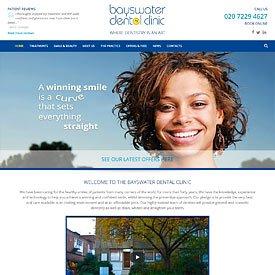 Bayswater Dental Clinic Website