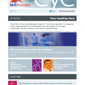 NHS Providers Email Templates