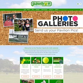 New Pavilion Website Theme