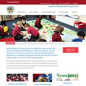West Wimbledon Primary Website