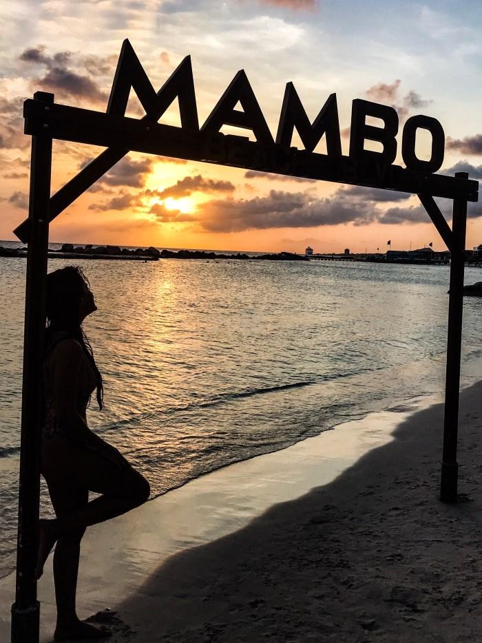 Mambo Beach, uma praia incrível de Curaçao