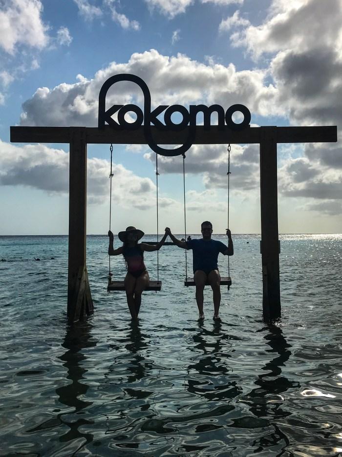 Kokomo Beach e seu balanço lindo