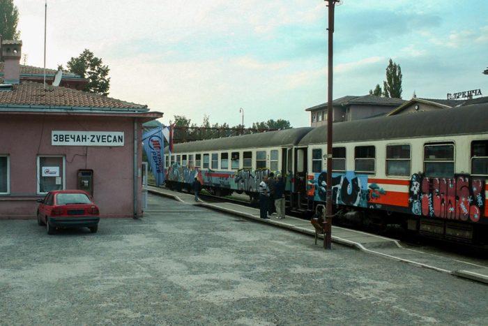 train belgrade mitrovica kosovo zvecan