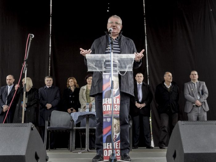 seselj meeting elections serbie