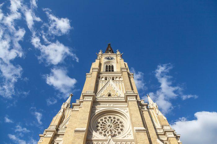 novi sad cathedrale catholique