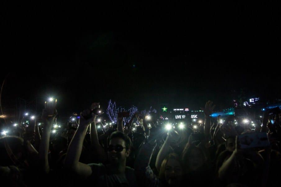 exit festival smartphones