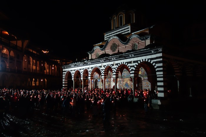 Rila Monastery Easter Night 04 Adrienne Charmet