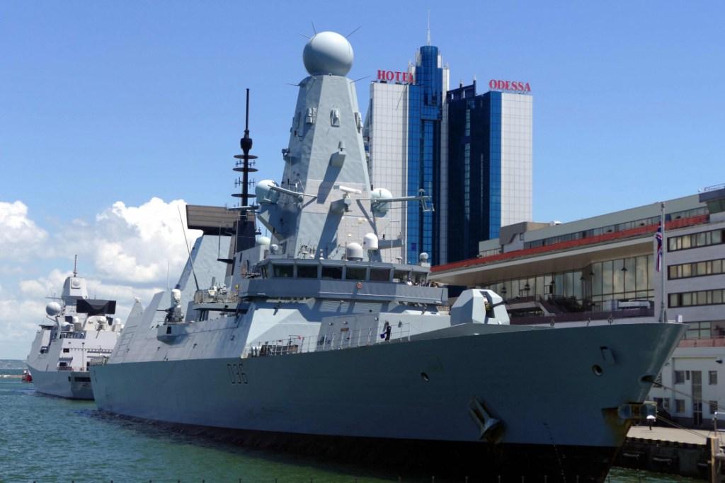 brit hadihajó
