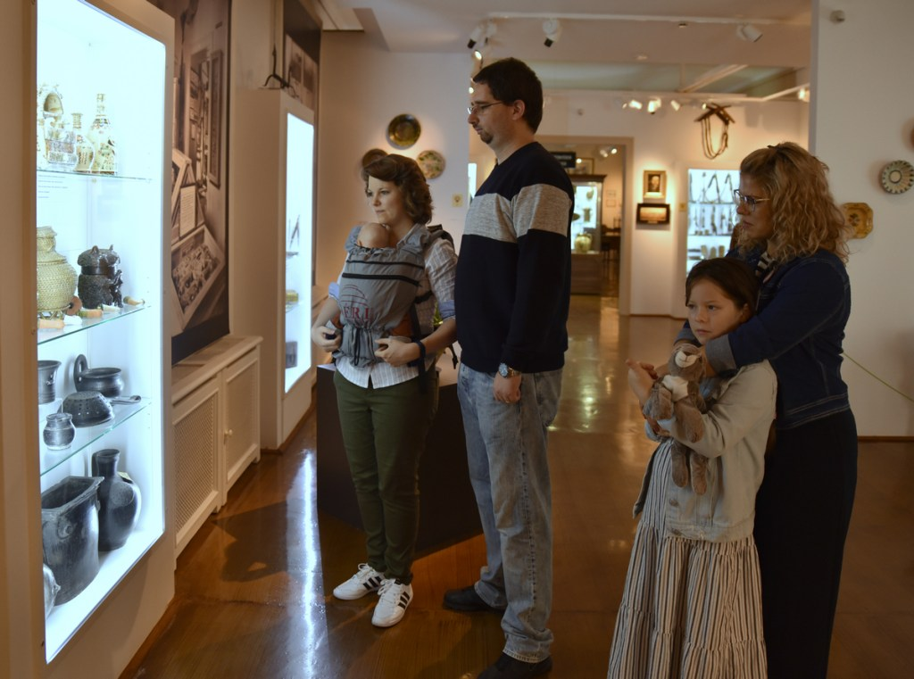 a Déri Múzeum látogatói
