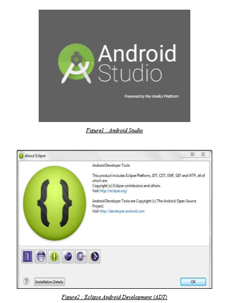 ANDROID STUDIO & Eclipse Android Development (ADT)