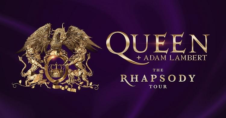 Queen + Adam Lambert The Rhapsody Tourスケジュール