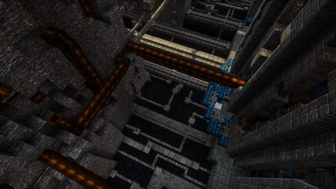 スチームパンクな廃墟世界を作ってみた