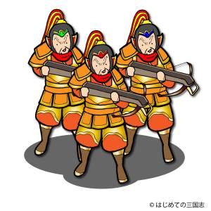 石弓兵強い 袁紹