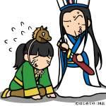 泣いて馬謖を斬る諸葛亮