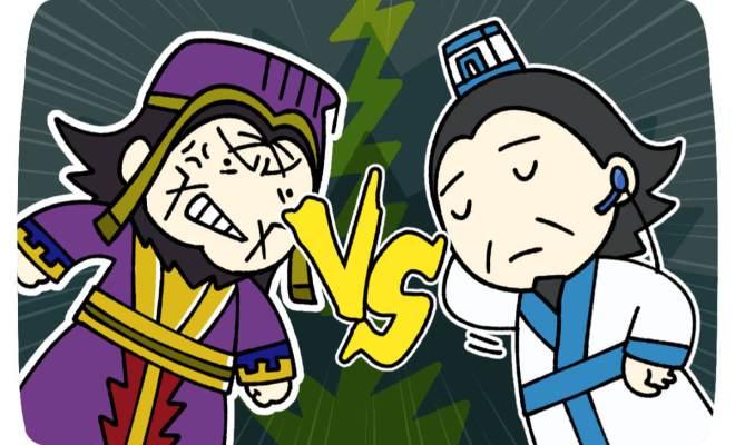 孔明 vs 司馬懿
