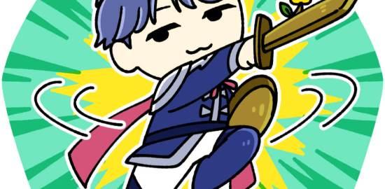 剣を持って戦う徐庶