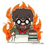 勉強する呂蒙