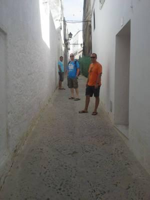 tiny street !
