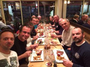 Le repas daprès AG aux Halles