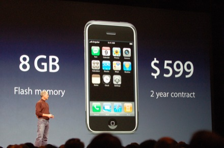 初代iPhone発表