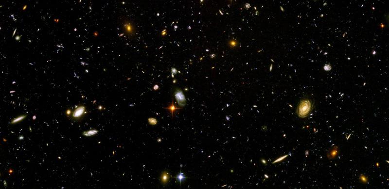Evrenin şimdiye kadar belirlenen en uzak görüntüsü