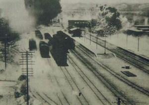 米軍と中華民国軍の攻撃を受ける新竹