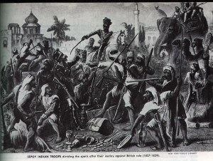 インド大反乱(セポイの乱)